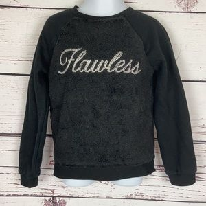 """The Children's Place """"Flawless"""" Black Sweater"""